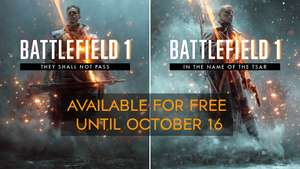 [PS4/Xbox One/PC]  Battlefield 1 In the Name of the Tsar & They Shall Not Pass DLC - Free - PS/Xbox/Origin Store