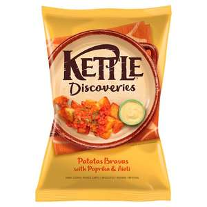 Kettle Discoveries Crisps 130G - Tesco - 99p