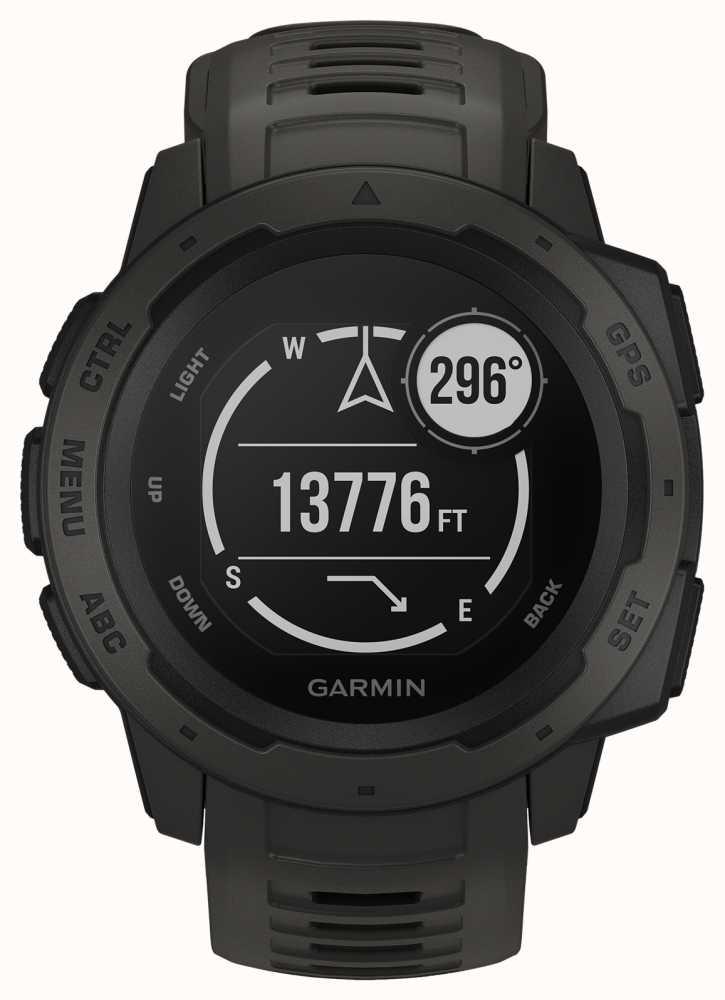 Garmin Instinct Graphite Outdoor GPS Smartchwatch / Watch £229.49 @ First Class Watches