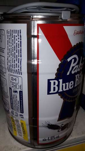 Pabst Blue Ribbon 5l Keg £6.50 @ Tesco Prestwich