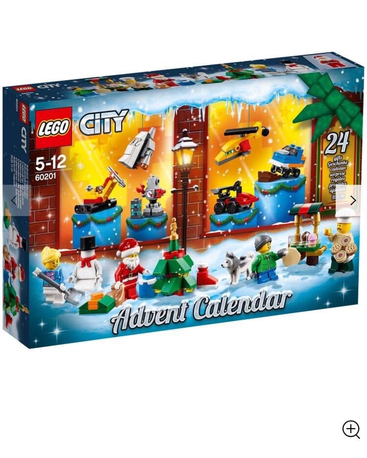 Lego advent calendar £22.99 @ IWOOT (Possible £15 Cashback @ Quidco)
