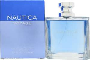 Nautica Voyage 100 ml £12.55 (£14.50 with Delivery) @ Perfume Click