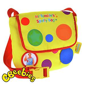 CBeebies Mr Tumble's Surprise Spotty Bag only £9.99 In store @ Home Bargains