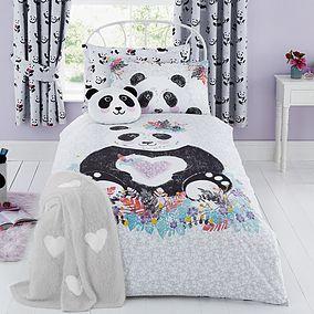 Dunelm Panda Single Duvet Cover and Pillowcase - £12 @ Dunelm