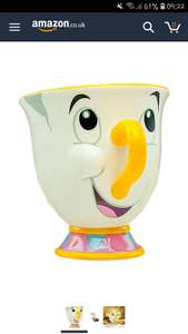 Paladone disney beauty and the beast chip mug £6.80 prime / £11.29 non prime Sold by Menkind and Fulfilled by Amazon - Lightning deal