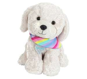 Chad Valley Bright Paws Popcorn the Retriever Soft Toy - Now £7.99 at Argos - Free C&C