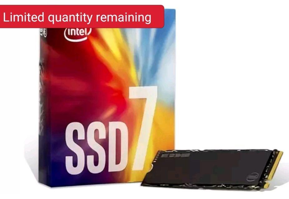 Intel 760p nvme m2 512Gb £105.94 @ cclcomputers / Ebay