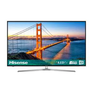 "Hisense 50U7A ULED HDR 4K Ultra HD Smart TV, 50"" with Freeview Play, Ultra HD Certified, Black/Silver £478.99 @ CoopElectrical"