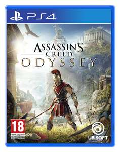 Assassins Creed Odyssey for PS4 and Xbox one £42.99 online and from HMV Cribbs Causeway Bristol