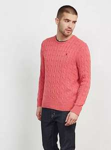 Ralph Lauren Jumper Sale e.g POLO RALPH LAUREN CABLE KNIT JUMPER £49 / £53.99 delivered @ Tessuti
