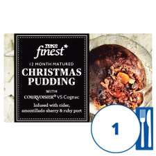 Tesco Finest Christmas Pudding 100G only £1 & 907g only £6 from 15th Oct @ Tesco