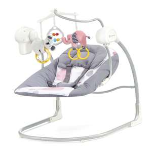 KinderKraft Minky Swing Bouncer RRP £139.99 - £40.95 / £44.90 delivered @ Precious little one