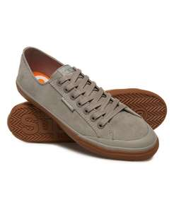 Low Pro Luxe Sneakers - Dove Grey Size 6 & 7 Charcoal 6 & 7 - £15 @ Superdry.com