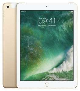 Apple iPad 2017 9.7 Inch 32GB Wi-Fi + Cellular Unlocked Tablet - Gold £296.99 @ Argos Ebay