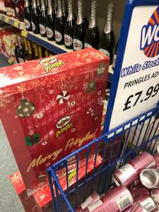 Pringles 12 Days of Xmas Advent Calendar - £7.99 at B&M. 12x40g - Instore only