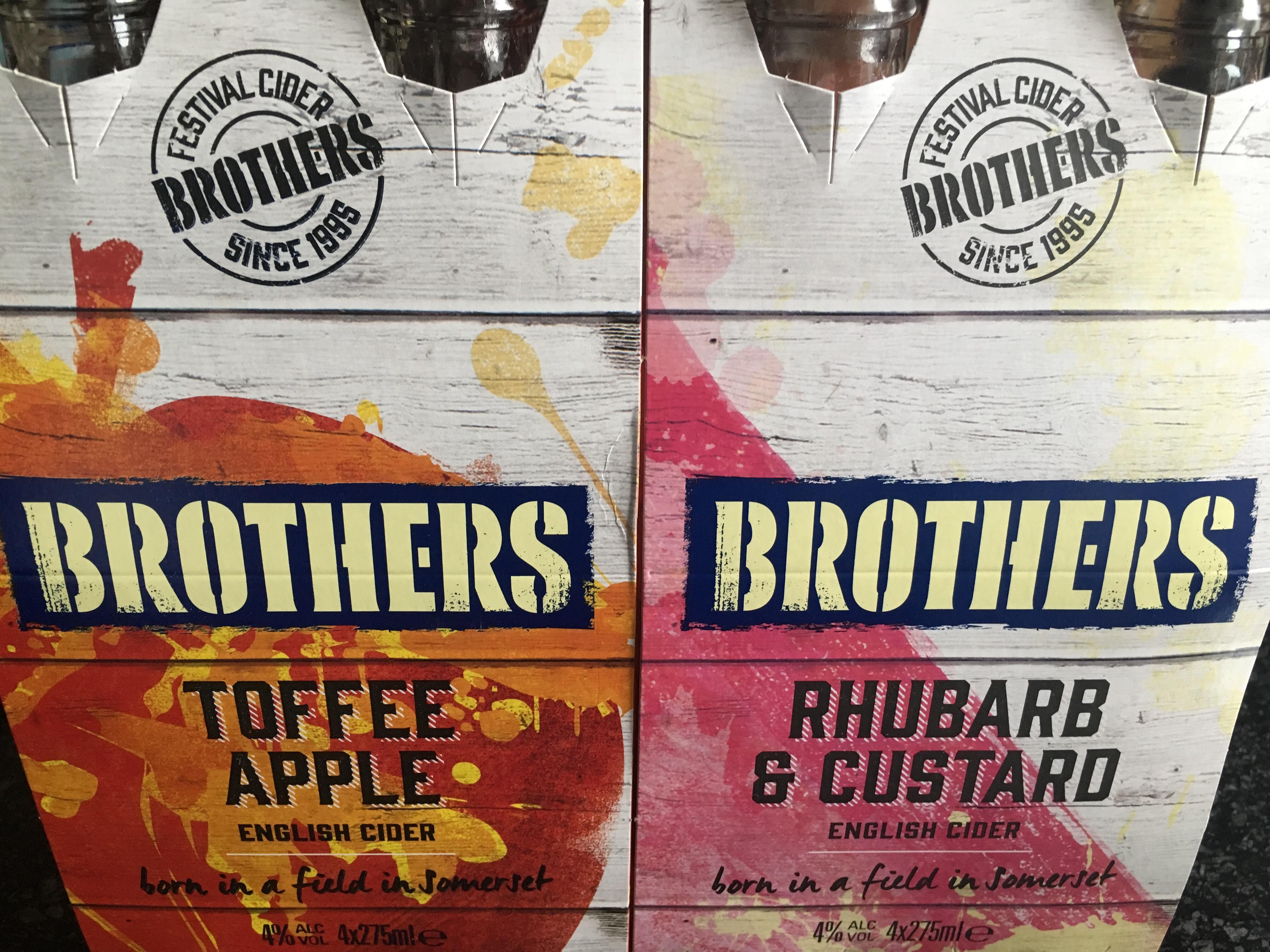 Brothers Cider - £3.49 instore @ Aldi