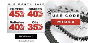 Euro Car Parts Mid Month Sale Hotukdeals