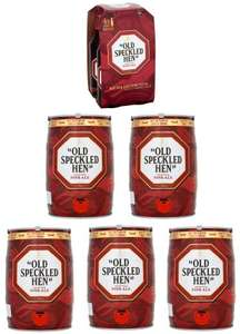 5 X 5L Old Speckled Hen Mini Kegs + 4x500ml Bottles £65.75 W/ Code AFFDMOCT15 (1st Time Orders Only) @ Sainsburys (Free C&C Or £1 Delivery)