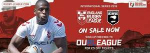 England v New Zealand Rugby League Series -  Elland Road, Leeds Sun 11 Nov @ Rugby League Tickets - From £7.50