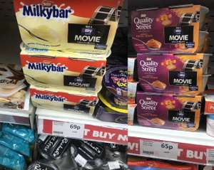 Quality Street + Milky Bar 4 pack Dessert with £5.99 Sky Store Voucher for as low as £2.60 - instore @ Heron (Coventry)