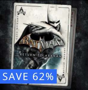 PS4 'Batman: Return to Arkham' Remastered [Arkham Asylum & Arkham City] £34.99 reduced to £12.99