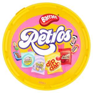 Barratt Retros Sweet Tub 630g £2.50 from 16th Oct at ONE STOP