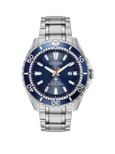 Citizen Eco-Drive Promaster 200m Diver Stainless Steel Bracelet Mens Watch - £209 @ Very
