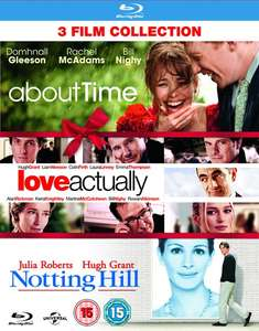 About Time/Love Actually/Notting Hill (Box Set) from Zoom for £7.20