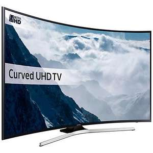 "49"" Samsung UE49KU6100 Curved Ultra HD HDR 4K Freeview HD Smart LED TV (Graded stock) £369.99 at  ElectronicWorldTV"
