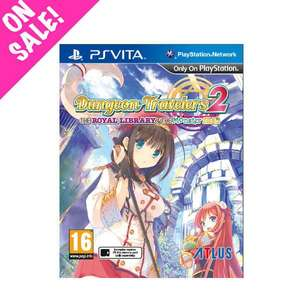 Dungeon Travelers 2: The Royal Library & The Monster Seal (PS Vita) £15.48 (EU) £13.32 (Non-EU) Delivered @ NISA
