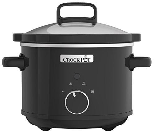 Crock-Pot CSC046 Slow Cooker, 2.4 Litre, Black [Energy Class A] by Crock-Pot £17.49 Prime / £21.98 Non Delivered @ Amazon UK