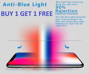 £1.99 for 2 screen protectors for iphone X & XS on ebay /  vitahealthonline2015