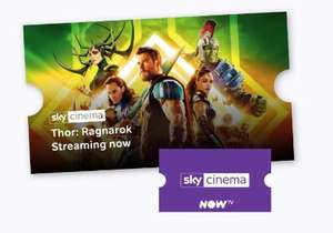 Now TV Sky Cinema Pass £3.99 per month for 3 Months (Existing customers)