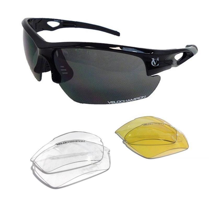 VELOCHAMPION Tornado Sunglasses (Black) £11.95 / £14.94 delivered @ Sport pursuit