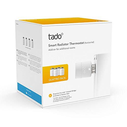 Tado radiator valves 4 pack £158.20 @ Amazon