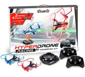 Silverlit RC Hyper Drone racing champion kit with 2 drones now £44.99 delivered with code @ JTF
