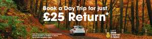 eurotunnel day trips to France  £25