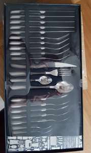 Sabichi roma 24 piece cutlery set now £15 in-store in Tesco
