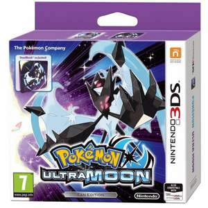 POKEMON ULTRA SUN AND MOON FAN EDITION 3DS £24.95 EACH @ The Game collection