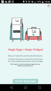 Toogoodtogo buy 3 get one free and entered into a draw for a fridge!