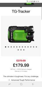 Olympus tough action /video camera £179 @ Olympus Cameras