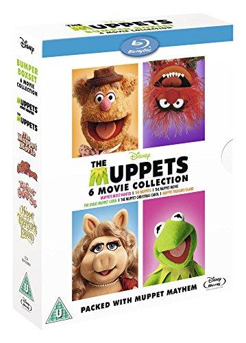 The Muppets Bumper 6 Movie Collection [Blu-ray] £15.99 prime / £18.98 non prime @ Amazon