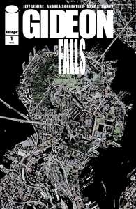 Gideon Falls #1 digital comic free at Comixology (Jeff Lemire)