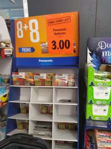 16 AA Panasonic Batteries for £3 - Instore in Lidl