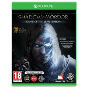 (Xbox One) Middle Earth:Shadow of Mordor GOTY preowned £4.99 @ GAME