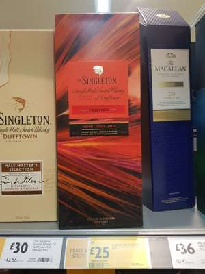 Various Whiskys instore @ Morrisons - from £25