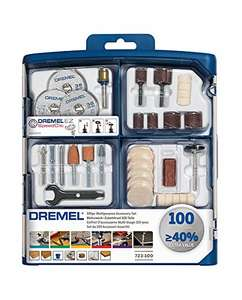 Dremel 723 Multipurpose Accessory Set - 100 Pieces £18.99 @ Amazon (£4.49 delivery Non Prime)