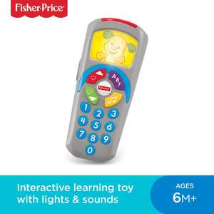 Fisher-Price DLD30 Laugh and Learn Puppy's Remote £5.50 (Add On Item) @ Amazon