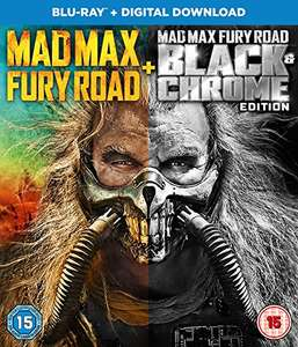 Mad Max Black and Chrome Edition [Blu-ray + Digital Download] £7.99 (Prime) / £10.98 (non Prime) at Amazon