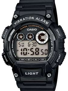 Casio Collection Men's Watch W-735H-1AVEF,10 Yr Battery,10M WR,Vibration Alarm, Super Illuminator,(Prime) £19.99 Prime @ Amazon (Also Argos)